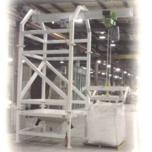 Taylor 4000 Bulk Bag Unloader-Trolley