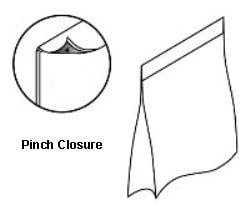 Pinch Paper Bag Seal