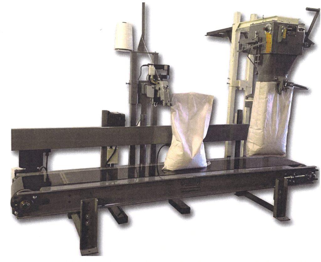 Jem 4 Bagger Bag Closing Conveyor Inpak Systems Inc